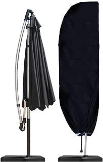 Gutsbox pokrowiec ochronny na parasol przeciwsłoneczny z zamkiem błyskawicznym i sznurkiem do ściągania, pokrowiec ochronn...