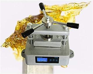 NXW Arts Heat Press Machine for Rosin Máquina De Colofonia Máquina De Prensa De Calor, Doble Placa De Aluminio Prensa De Calor con