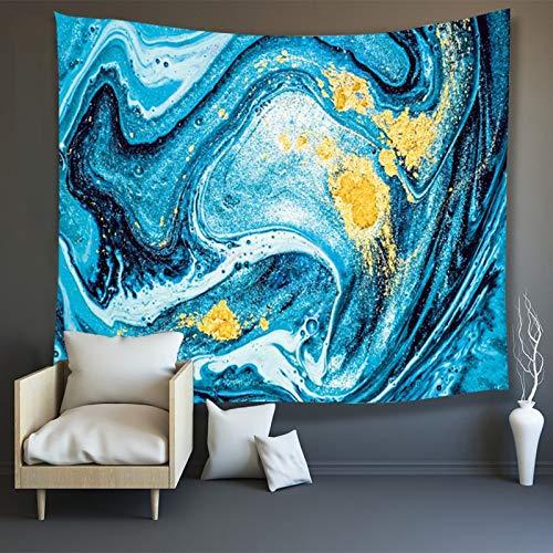 Tapiz de mármol psicodélico colgante de pared hippie tapiz de pared decoración de fondo tela colgante manta tapiz A3 180x200cm