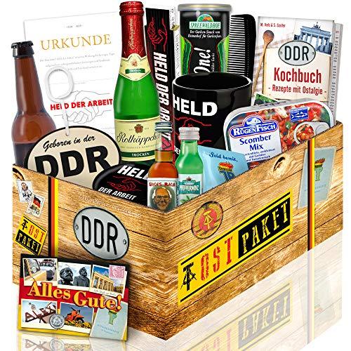 XXL Geschenkbox für Männer / DDR Produkte / Geschenkset für Freund Geburtstag