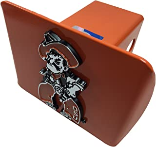 Oklahoma State METAL Hitch Cover (Pistol Pete on orange hitch)