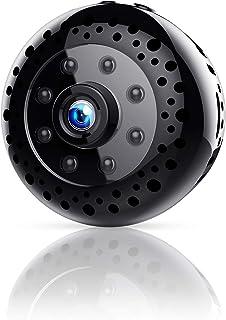 FREDI 超小型WiFi隠しカメラ 1080P超高画質ネットワークミニカメラ WiFi対応防犯監視カメラ 動体検知暗視機能 リアルタイム遠隔監視 録画録音