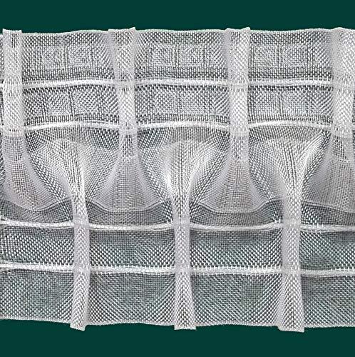 Ruther & Einenkel Schlaufen-Smokband, 100 mm, volltransparent, 200% / Aufmachung 10 m