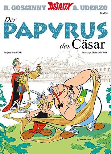 Asterix 36: Der Papyrus des Cäsar (German Edition)