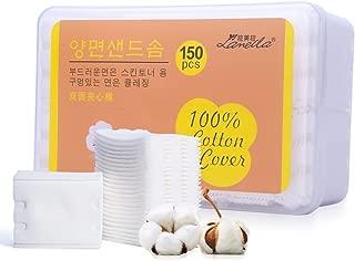 Lomsarsh Tampons d/émaquillants r/éutilisables 12Packs Microfibre pour le visage nettoyants lavables pour le maquillage des yeux Tampons en coton doux et /écologique en bambou avec sac