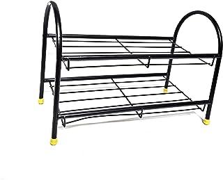 Explore Heavy Duty Multi-Purpose Metal Shoe Rack/Shoe Stand/ Shoe Organiser (2 Shelf)