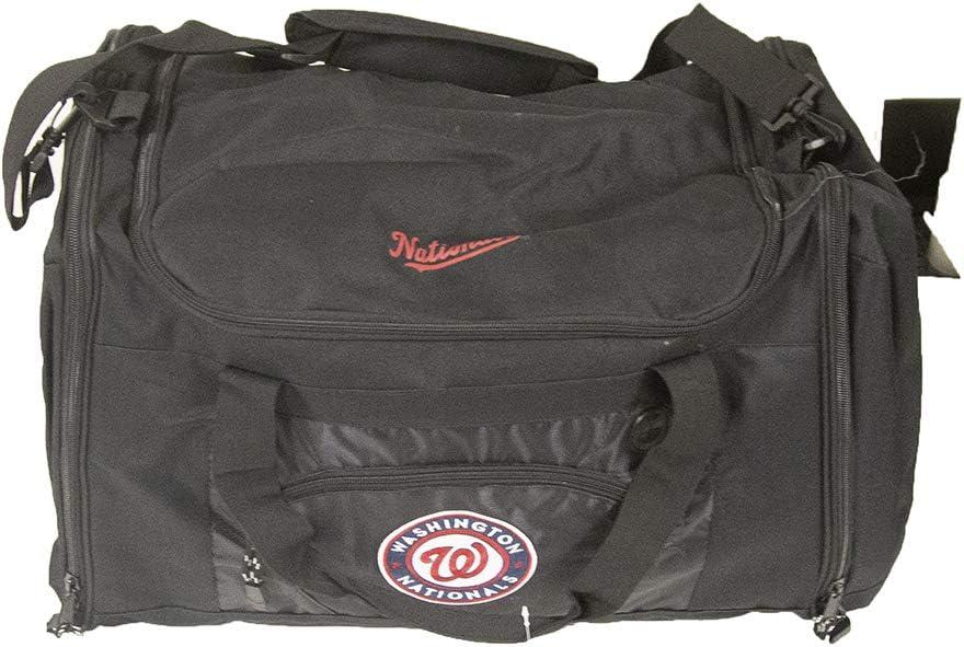 "MLB New York Mets ""Roadblock"" Duffel, 20"" x 11.5"" x 13"" : Sports Fan Bags : Clothing"