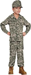 California Costumes Soldier Costume, One Color, 8-10