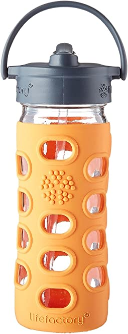 Lifefactory - Kids Glass Bottle with Straw Cap 12 oz.