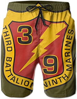 You Know And Good USMC 3rd Marine Special Operations Bn Mens Swim Trunks Bathing Suit Beach Shorts