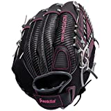 Franklin Sports Fastpitch Softball Glove - Fastpitch Pro - Adult and Youth Softball Mitt - Infield and Outfield - Right Handed Glove - Pink 13' Righty