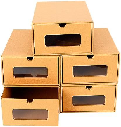 Amazon Fr Boite Rangement Carton Meubles A Chaussures