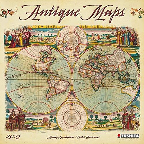 Antique Maps 2021 Media Illustration
