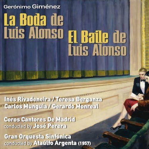 Gran Orquesta Sinfónica, Ataúlfo Argenta & Inés Rivadeneira