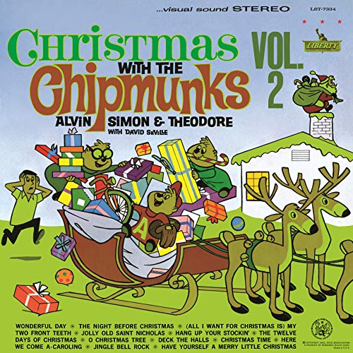 Christmas With The Chipmunks Vol.2 [LP][White]