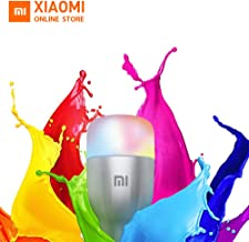Xiaomi Mi LED Smart Bulb E27,Smart LED Colorful Light Bulb with 16 Million Colors and App Remote Control,with Alexa and Go...