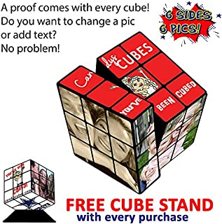 personalized rubik's cube gift