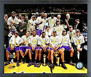 Los Angeles Lakers NBA Team Photo (Size: 12