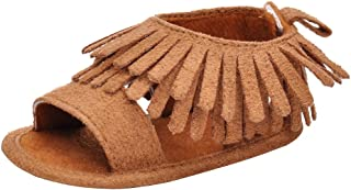 brown baby girl sandals