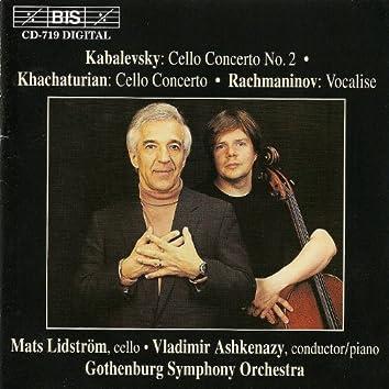 Kabalevsky, D.B.: Cello Concerto No. 2 / Khachaturian, A.I.: Cello Concerto in E Minor
