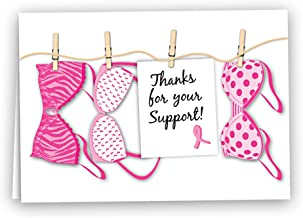 breast cancer awareness thank you cards