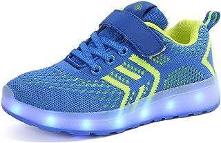 Sneaker Ragazzo LED Luminosi Sneakers con Le Luci Accendono Scarpe Sportive Scarpe da Ginnastica Bambino Sneakers Ragazza