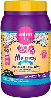 Salon Line Creme Hidratação Maionese Light Capilar Matizadora, Branco