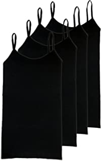 HL California Camisole Spaghetti Strap 4-Way Stretch Seamless Basic Layering Top Value Pack