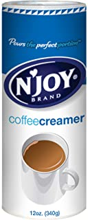Sponsored Ad - N'Joy Coffee Creamer, 12 Ounce (Pack of 6) - Non-Dairy, Easy Pour Lid, Bulk Size