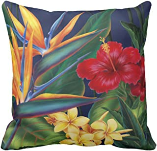 hawaiian pillow covers