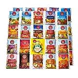 Teebeutel Sortiment - 40 Stück - Perfekte Vielfalt - Früchtetee, Blutorange, Waldbeeren,...