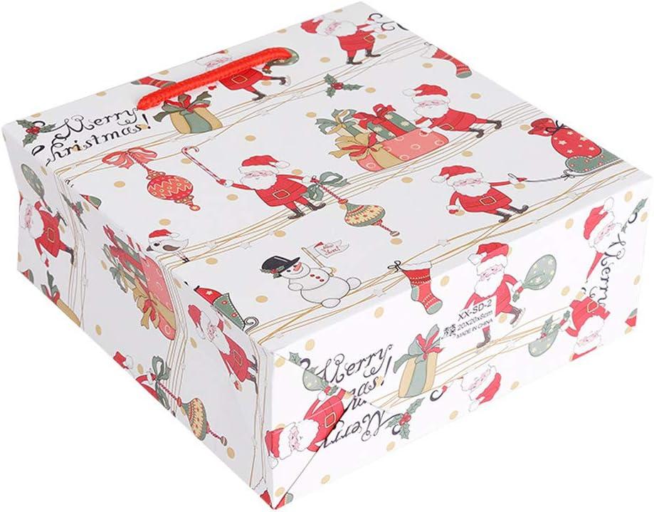 4 x Klein, 4 x Mittel, 4 x Gro/ß Kaxich 12 Weihnachten Geschenkt/üten Weihnachtstasche mit Griffen Weihnachtst/üten Geschenktaschen Papier Cartoon Papiert/üten Papiertaschen