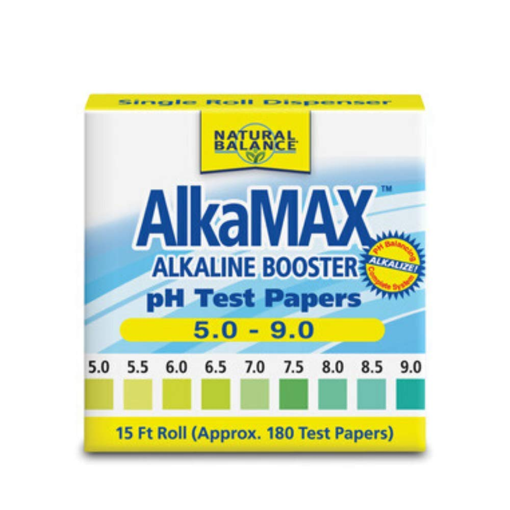 AlkaMax pH Test Papers 15 ft. roll 180 papers