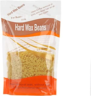Bonjanvye Hard Wax Hair Removal Wax For Women Face Hair Wax Hard Wax Beans 300g Honey