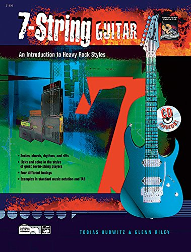 7-String Guitar: Book & CD