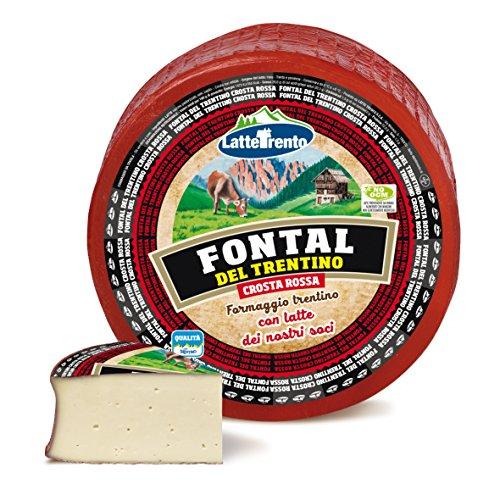 Formaggio Fontal del Trentino Crosta Rossa 1000 gr