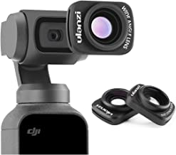 Wide Angle Camera Lens for DJI Osmo Pocket - ULANZI OP-5 Professional 0.65 X Wide-Angle HD Magnetic Structure Design Camera Lenses, Osmo Pocket Gimbal Accessories