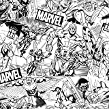 Marvel Avengers Sketch Baumwolle ab 0,5 Meter