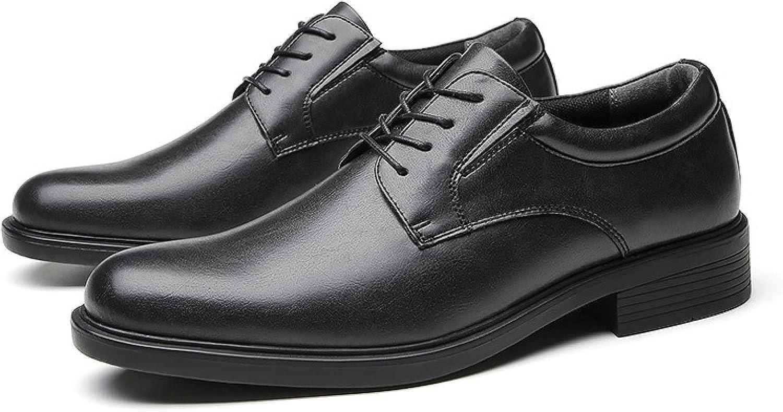 Men's Oxford Dress Casual Shoe Classic Formal Toe Oxfords Leather Men Comfortable Business Shoes 88912