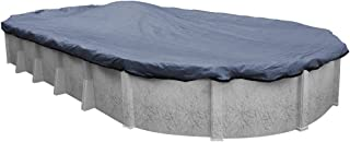 Pool Mate 421521-4-PM Extreme-Mesh Winter Oval Above-Ground Pool Cover, 15 x 21-ft, 4. XL Blue