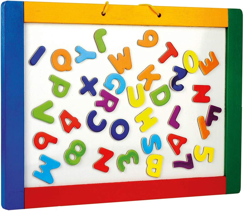 GeschenkeDirekt Bino Hanging Magnetic Blackboard with Letters