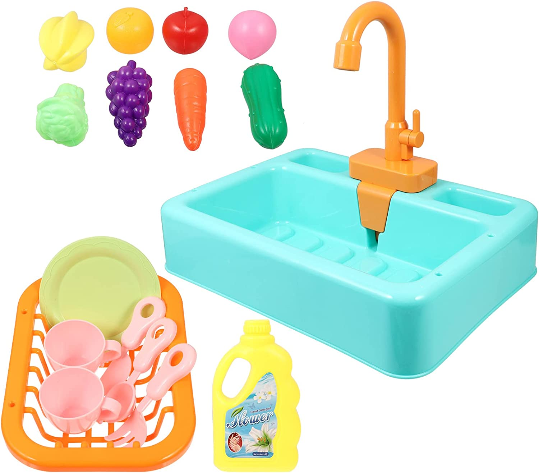 Toyvian 1 Set OFFicial site Kitchen Pretend Play Kids Dishwasher Toy Water Kit Award