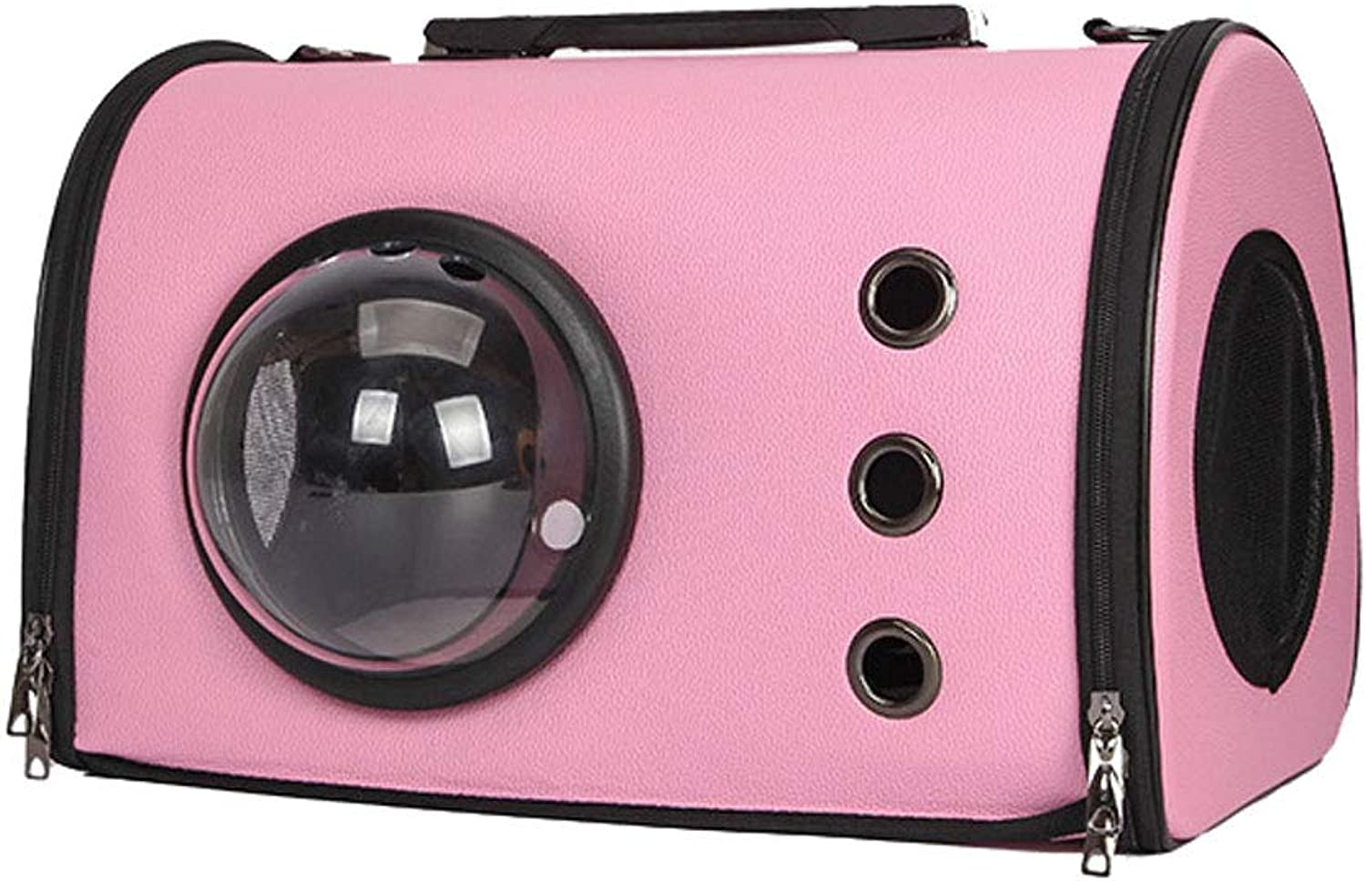 Dog and Cat Sling Carrier  Reversible Pet Bag  Soft Pouch and Tote Design (color   Pink)