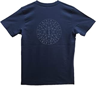 Tシャツ ふとまに1紺 テラヘルツ 伯舟庵