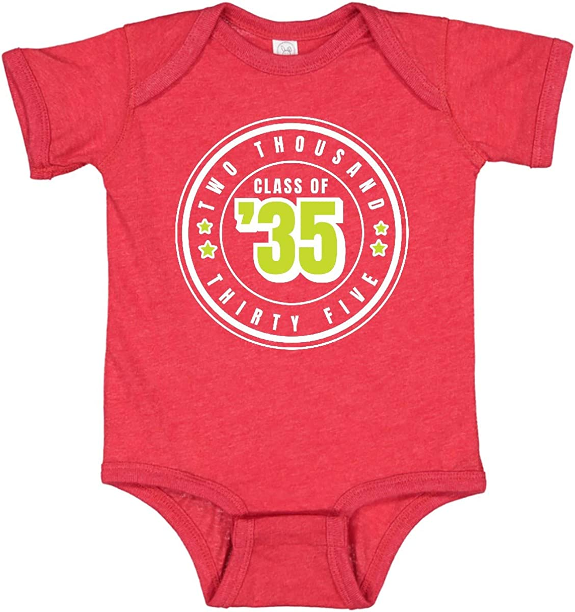 Factory outlet inktastic Class of 2035 in White Circle Stars Creepe Infant San Diego Mall with