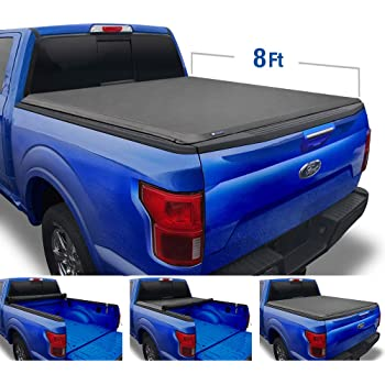 Amazon Com Tyger Auto T1 Soft Roll Up Truck Bed Tonneau Cover For 1999 2016 Ford F 250 F 350 Super Duty Styleside 8 Bed Tg Bc1f9028 Automotive
