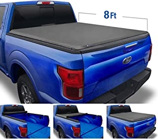 Tyger Auto T1 Roll Up Truck Tonneau Cover TG-BC1F9028 Works with 1999-2016 Ford F-250 F-350 F-450 Super Duty   Styleside 8' Bed