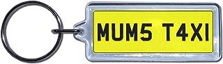 MUMS TAXI   UK Kennzeichen Schlüsselanhänger