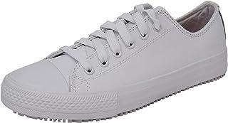 Skechers for Work Womens Gibson-Hardwood Slip Resistant Sneaker