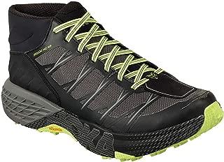 Men's Speedgoat Mid WP Hiking Shoe Black/Steel Grey Size 11.5 M US
